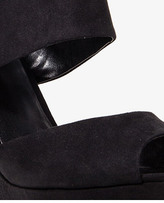 Forever 21 Faux Suede Wedge Sandals