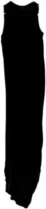 Rick Owens Black Velvet Dresses