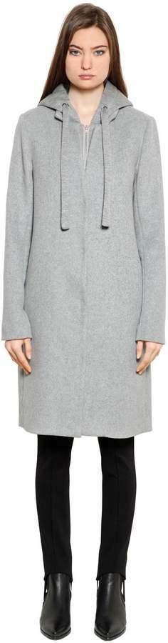 Designers Remix Edwin Hooded Felt Coat
