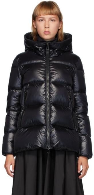 Moncler Black Down Serrite Jacket