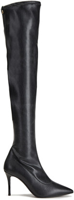 Giuseppe Zanotti Lucrezia 90 Faux Stretch-leather Over-the-knee Boots