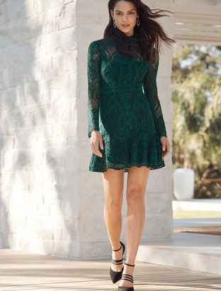 Ever New Lia Lace-Sleeved Mini Dress
