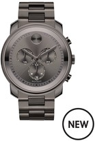MOVADO Movado Bold 44mm Case Gunmetal Plate Chronograph Stainless Steel Bracelet Mens Watch