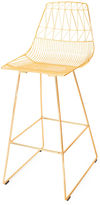 Bend Goods Lucy Counterstool, Gold