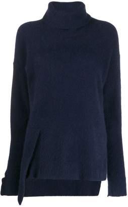 Yohji Yamamoto roll neck sweater