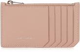 Saint Laurent Grained-leather cardholder
