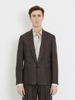E. Tautz E.Tautz Suit Sb1 Jacket And Pleated Trouser With Side Adjusters