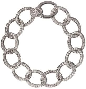Pomellato 18kt white gold Brera bracelet