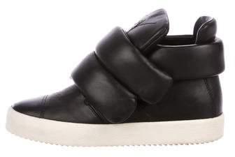 Giuseppe Zanotti Cesar Leather Sneakers
