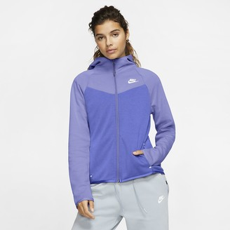 Nike Women's Full-Zip Hoodie Sportswear Windrunner Tech Fleece