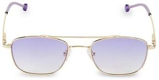 Colors In Optics 53MM Biscayne Rectangular Sunglasses
