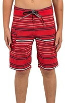Volcom Boy's Magnetic Liney Board Shorts