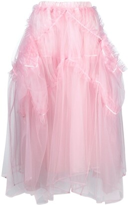 Comme des Garcons Ruffle Tulle Skirt