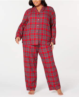 Matching Family Pajamas Plus Size Brinkley Plaid Flannel Pajama Set