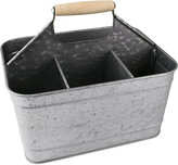 Artland Oasis Galvanized Tin Carry All Caddy