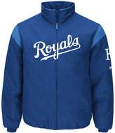 Majestic Men's Kansas City Royals On-Field Thermal Jacket