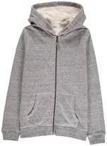 Hartford Fur-Lined Zip-Up Hooded Sweatshirt