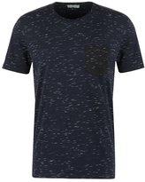 Selected Homme Shdindi Print Tshirt Dark Sapphire