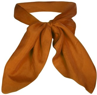 Sarvin Cleo Gold Sustainable Silk Touch Neck Scarf