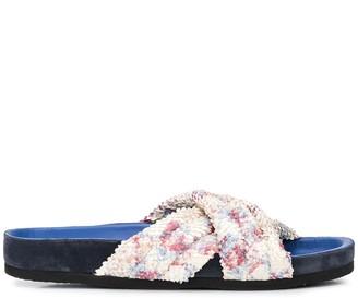 Isabel Marant Holden crisscross-strap slides