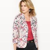 Anne Weyburn Cotton Satin Jacket