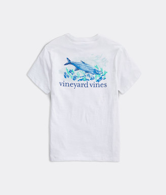 Vineyard Vines Painted Tarpon Slub Short-Sleeve Pocket Tee