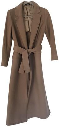 Topshop Tophop Boutique Beige Wool Coat for Women