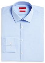HUGO Mabel Small Gingham Check Sharp Fit - Regular Fit Dress Shirt