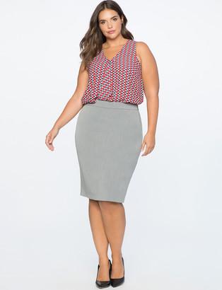 ELOQUII Premier Bi-Stretch Work Skirt