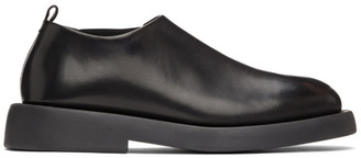 Marsèll Black Gommello Slip-On Loafers