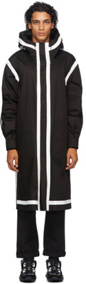 Fendi Reversible Black Rain Parka