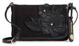 Tommy Bahama Casbah Convertible Canvas Crossbody Bag - Black