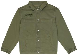 Bonpoint Stretch-cotton jacket