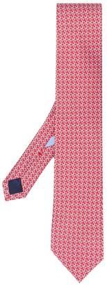 Salvatore Ferragamo Gancini-print tie