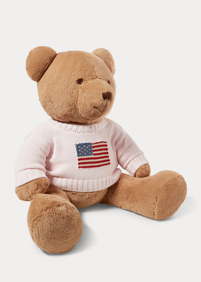 Ralph Lauren Large Flag-Sweater Polo Bear
