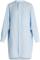 Acne Studios Siva linen-chambray dress