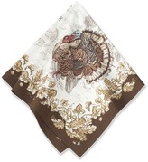 Williams-Sonoma Plymouth Turkey Napkins, Set of 4