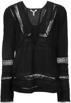Derek Lam 10 Crosby lace panel blouse