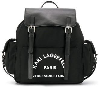 Karl Lagerfeld Paris Rue St Guillaume backpack