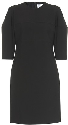 Victoria Victoria Beckham Structured-sleeve stretch minidress
