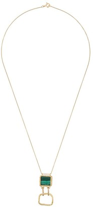 Elhanati 18kt gold Roxy Green Delight necklace