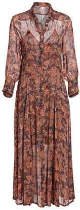 IRO Maddie Printed Shirtdress