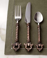 GG Collection G G Collection 20-Piece Fleur-de-Lis Flatware Service