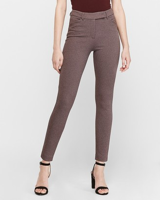 Express High Waisted Extended Tab Skinny Pant