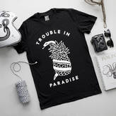 Art Disco 'Trouble In Paradise' Snake And Pineapple T Shirt