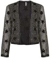 Star embellished jacket