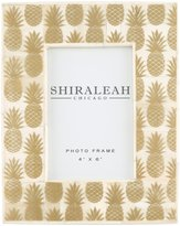 "Shiraleah Pineapple Picture Frame - 4"" x 6"""