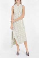 Proenza Schouler Asymmetric Tweed Dress