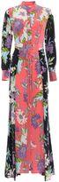 Diane von Furstenberg Floral Silk Shirt Dress