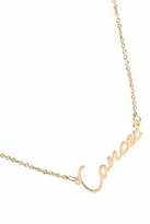 Rebecca Minkoff Cancer Zodiac Necklace in Gold